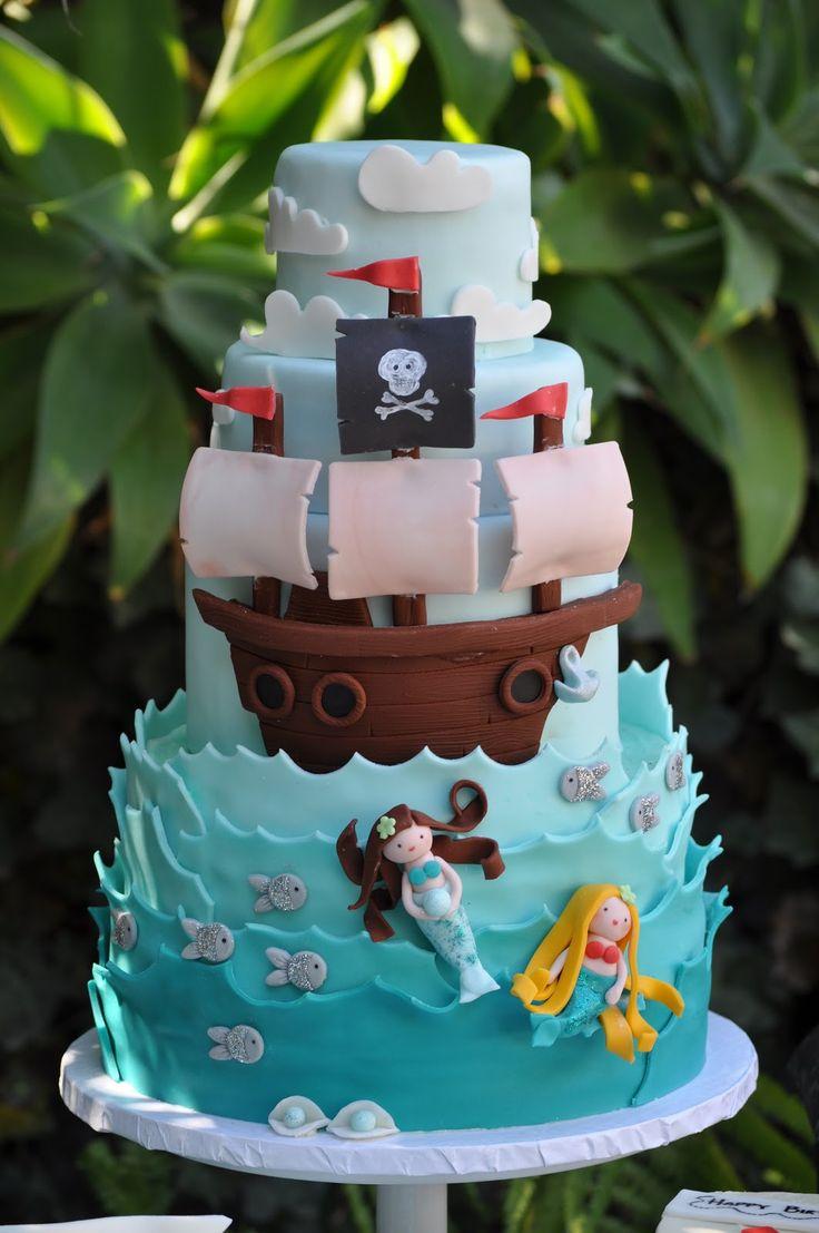 Pirate Birthday Cake Ideas Pirate Adventures On The Chesapeake