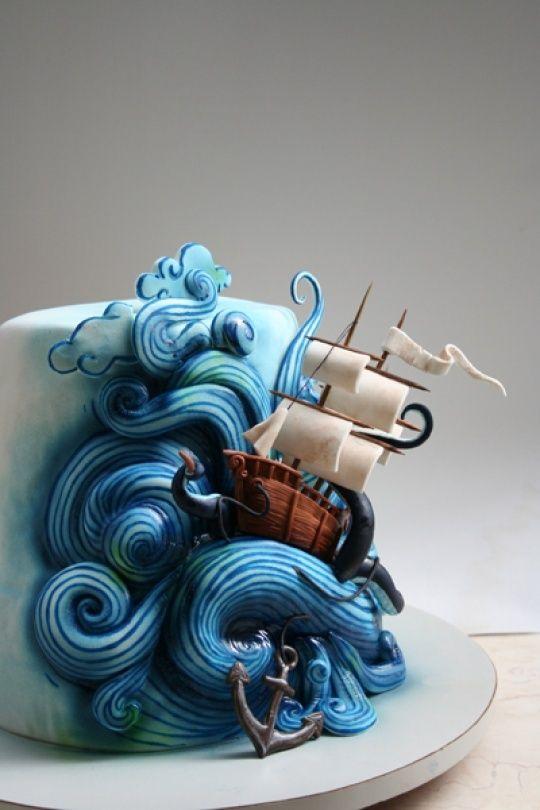 Pirate Birthday Cake Ideas Pirate Adventures On The